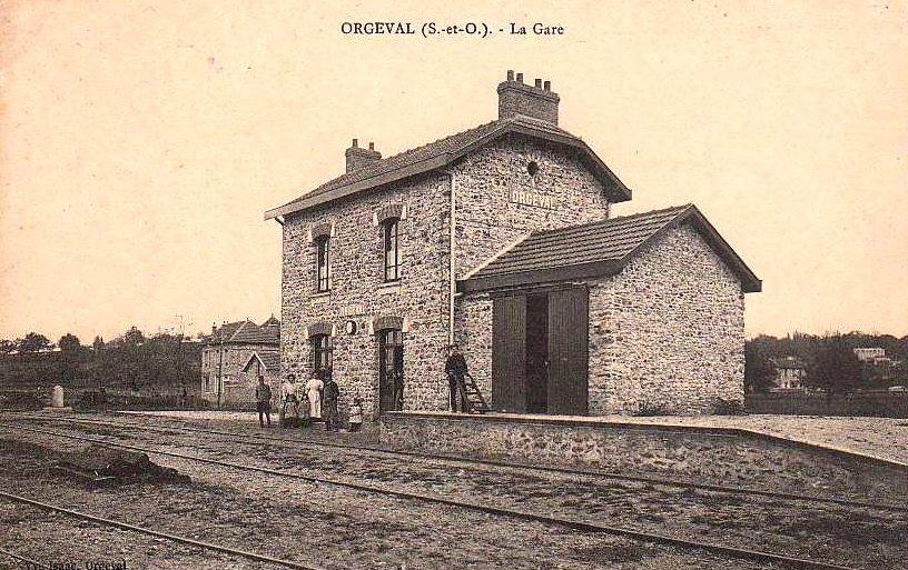Gare Orgeval