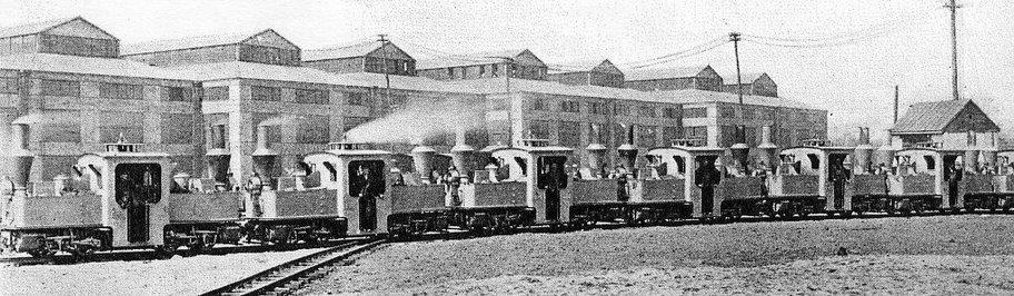 Pechot at Eddystone factory circa 1915