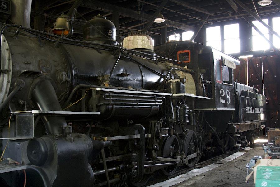 Baldwin 28 Sierra Railroad